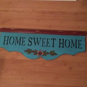 Beautiful Rustic Home Sweet Home wall plaque